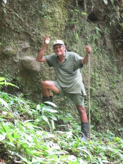 Our amazing guide to the Indio-Maiz rainforest Hillary